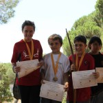 podium_menors_14_anys_ian_xx_campionat_bosc_2015